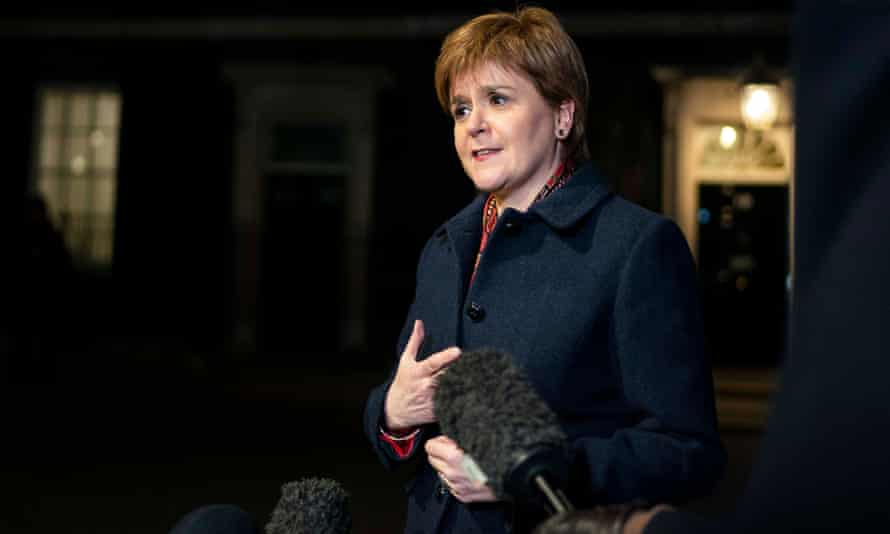 Scotland's first minister Nicola Sturgeon, who said she detected little sign of compromise from the PM.