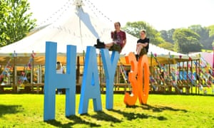 Hay on Wye is celebrating its 30th anniversary.