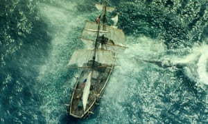Scene from the film Moby-Dick