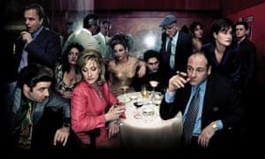 Most of the characters had been baptised in the Roman faith … The Sopranos.