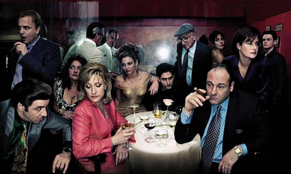 The show that made the small screen huge … The Sopranos.
