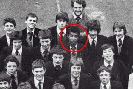 Khalid Masood at school aged 15.