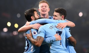 Manchester City are Premier League champions for the third time in seven seasons