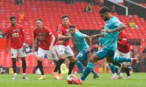 Joshua King of AFC Bournemouth slots home from the penalty spot.
