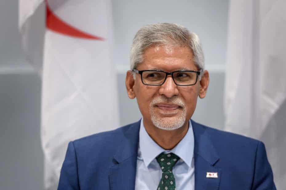 Jagan Chapagain, head of the IFRC
