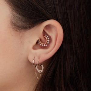 The Curated Ear Why Delicate Decorative Piercings Are The New