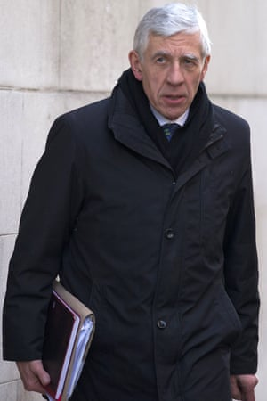 Jack Straw, the former foreign secretary, is on the commission.
