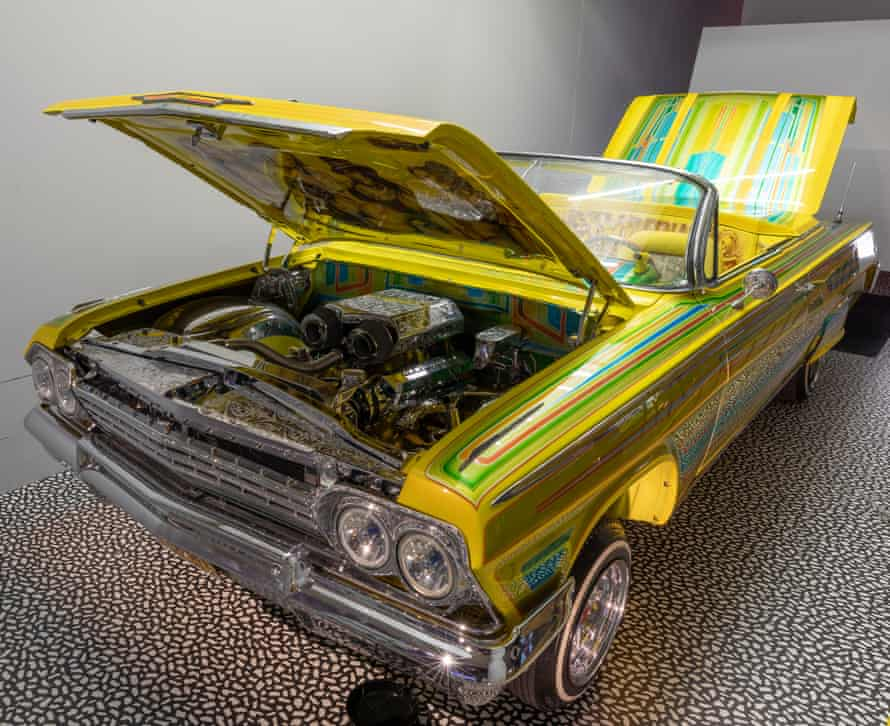The Tipsy/Guardian Angel, a customised 1962 Chevrolet Impala.