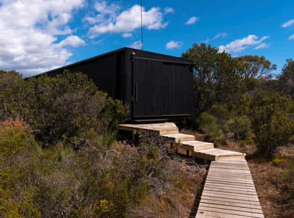 Accommodation on the Wukalina Walk, Tasmania