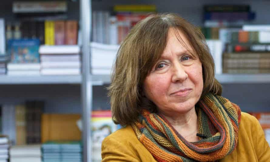 Power and insight … Svetlana Alexievich