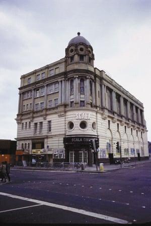 Scala Cinema exterior circa 1982