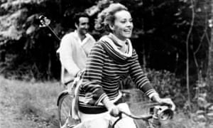 Jeanne Moreau in François Truffaut's Jules et Jim (1961) captured the mood swings of the complex Catherine.