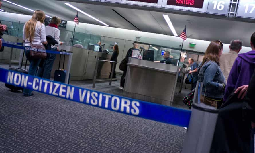 Immigration passport control