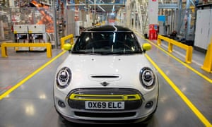 BMW makes Minis at its Cowley plant near Oxford.