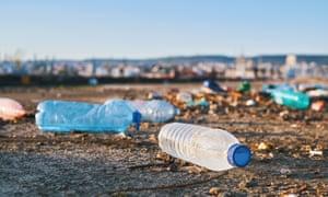 Littered bottles