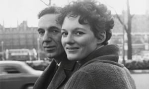 Judith Pakenham with her fiance Alec Kazantzis in 1962. After her marriage, she published poetry as Judith Kazantzis. In her work she used a vernacular that could be tart, bawdy and lyrical.