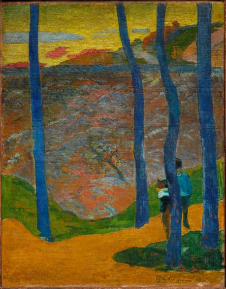 Blue Trees (Your Turn Will Come, My Beauty!), 1888, by Paul Gauguin.