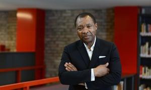 Okwui Enwezor curator of Documenta 11.