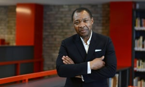 Okwui Enwezor was the curator of the 56th Venice Bienale