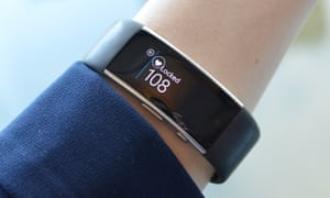 A Microsoft Band 2 fitness tracker