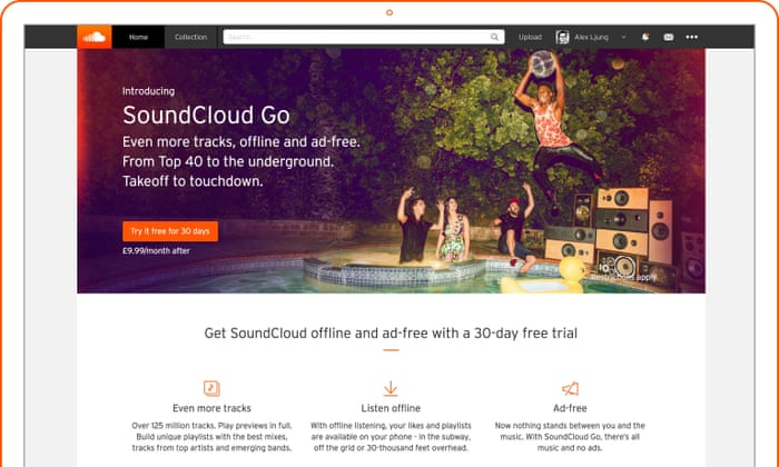 SoundCloud Go subscription music service launches in UK and