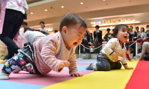 941,000 children were born in Japan last year, the lowest number since records began in 1899.