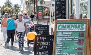 British expats in Benalmadena, Spain: