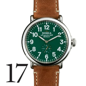 Watch, £400, shinola.com