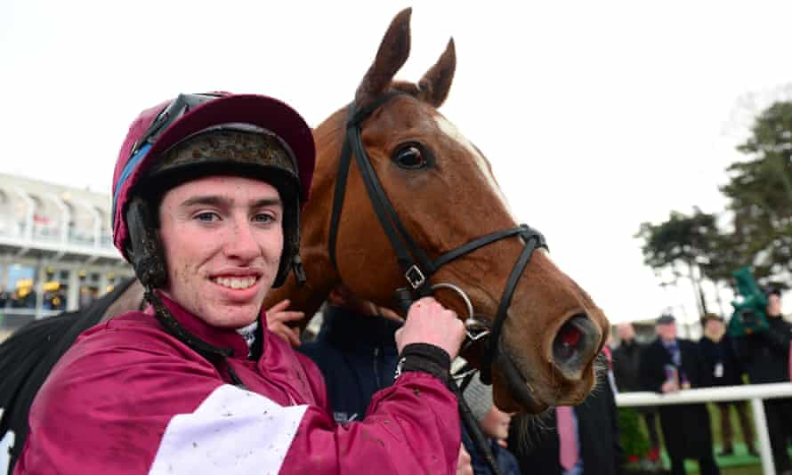 Samcro and Jack Kennedy after their win at Leopardstown