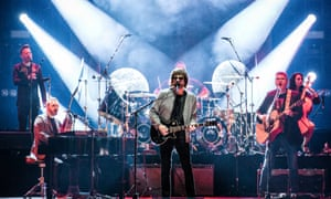 A massive spiritual recharge … Jeff Lynne's ELO.