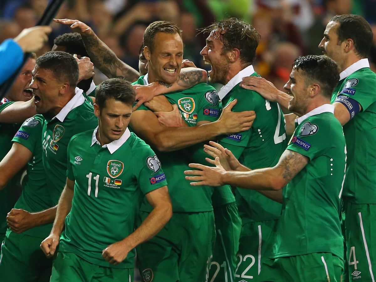 Republic Of Ireland V Germany Euro 2016 Qualifier As It Happened Football The Guardian