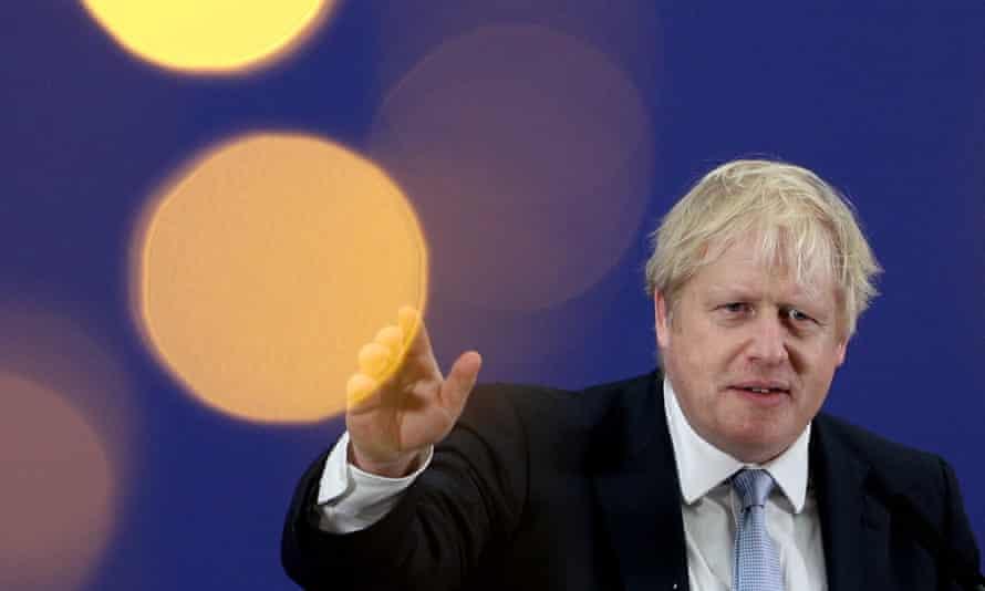 Boris Johnson campaigning in Cornwall