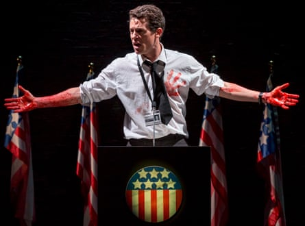 Christopher Wright as Julius Caesar at Chester's new £37m Storyhouse venue.