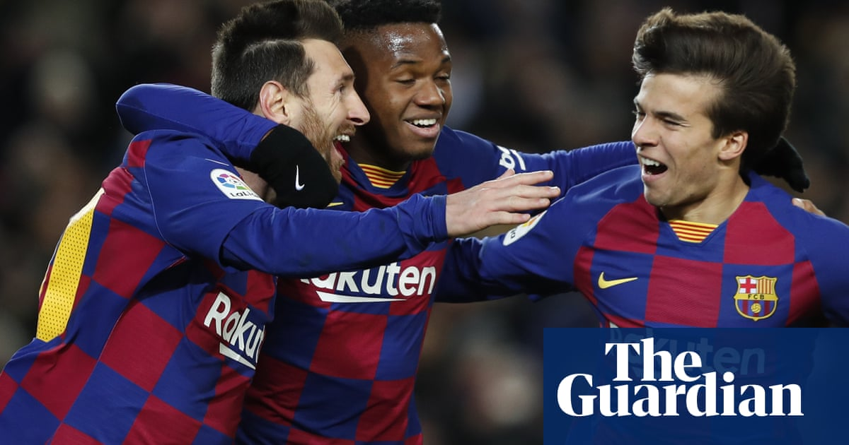 Pass masters Barcelona deliver first glimpse of the Setién manifesto | Sid Lowe