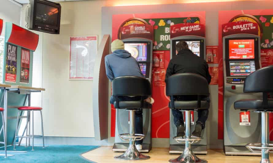 Fixed odds betting terminals in a bookmakers