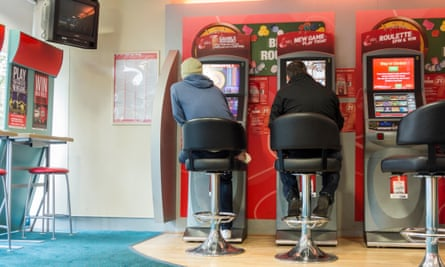 Fixed-odds betting terminals in a bookmakers