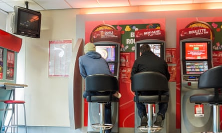Fixed odds betting terminals.