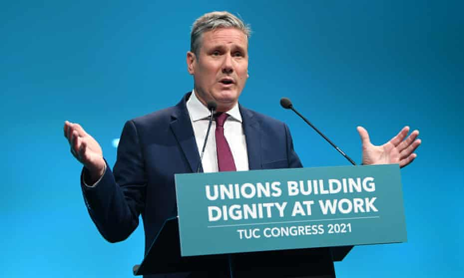 Starmer's personal ratings have fallen since a strong start as Labour leader.