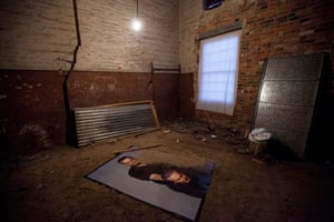 'A desperately sad atmosphere': Entry By Mirror Only by Mike Parr at Dark Mofo