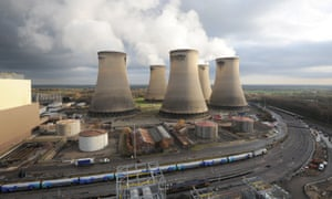 The Drax power station near Selby, North Yorkshire