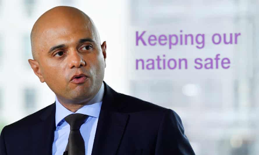 Sajid Javid sought to calm fears that the new Contest strategy would infringe civil liberties.