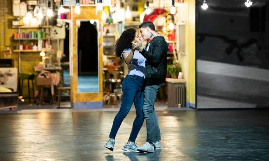 Shereen Pimentel and Isaac Powell in West Side Story