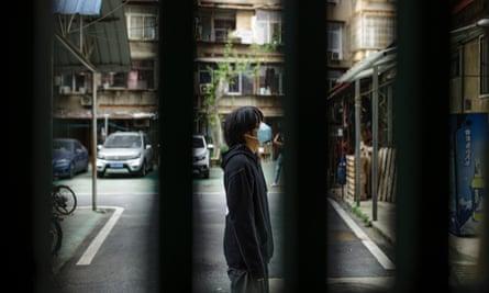 Coco Han, 22, in Wuhan.