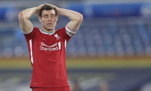 James Milner with a great cross.