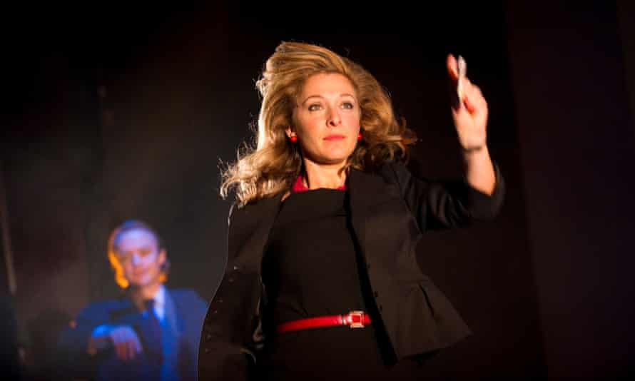 Tracy-Ann Oberman in Earthquakes in London at Theatre Royal Bath in 2011.