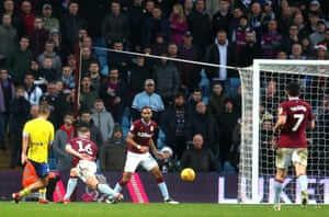 Roofe latches onto the poor clearance to score the winner for Leeds.