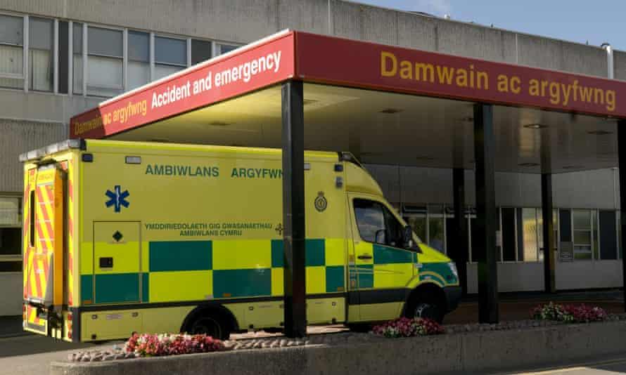 Ysbyty Glan Clwyd Hospital, Bodelwyddan, North Wales, Britain