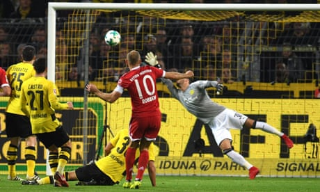 Arjen Robben scores stunner as Bayern Munich beat Borussia Dortmund