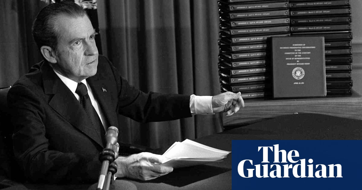 'Nixon is much more serious than Trump': Michael Dobbs and the tale of the White House tapes