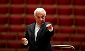 Vladimir Ashkenazy at the Royal Festival Hall in 2012.